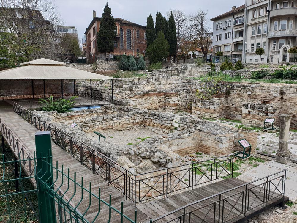 Günstige Urlaubsziele Römische Termen in Varna