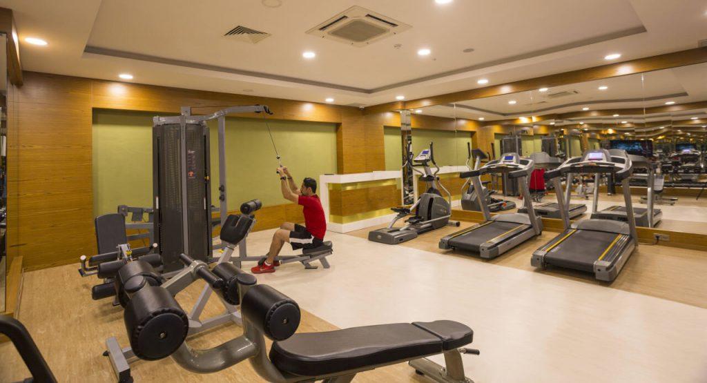 Türkei Last Minute Luxus Fitnenssstudio