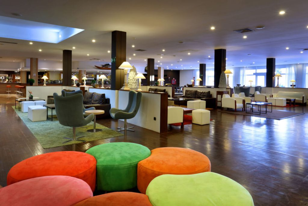 Lobby im Ibiza Hotel