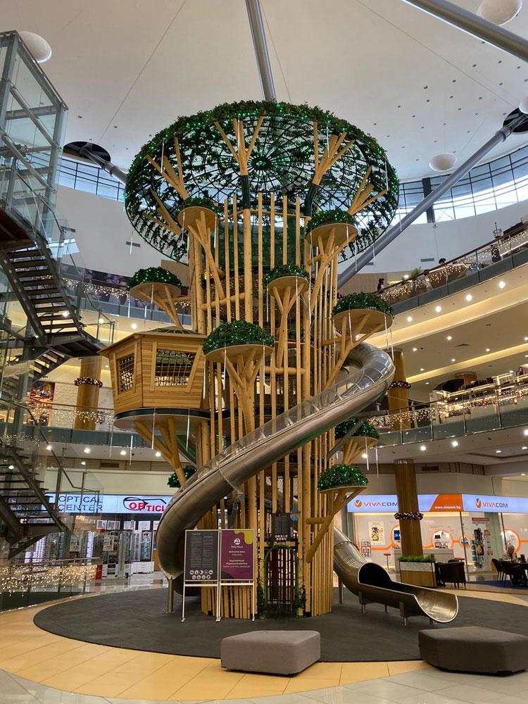 Günstige Urlaubsziele Varna Grand Mall Spielplatz